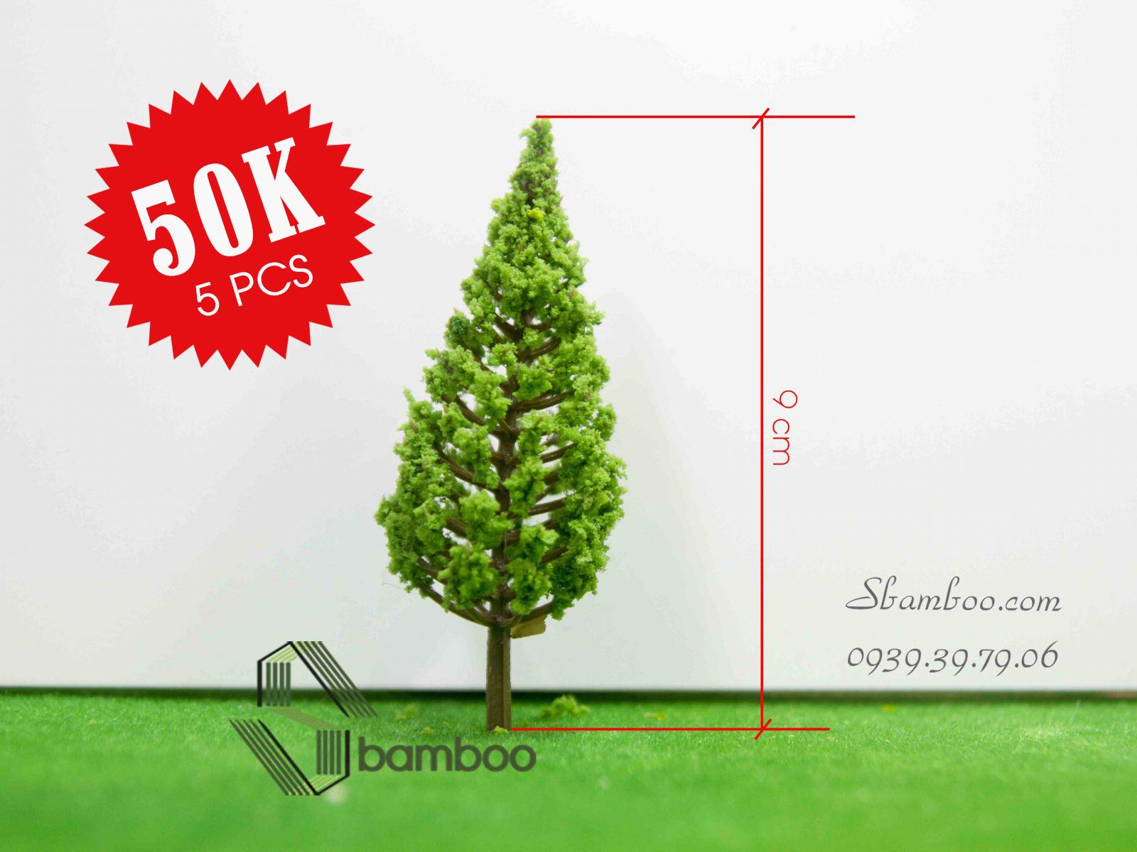 COMBO 5 cây thông 9cm