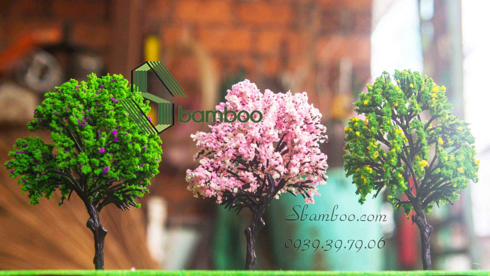 Hoa anh đào 14cm