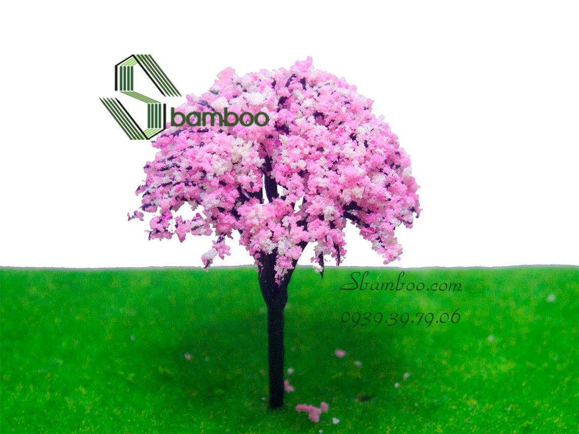 Hoa anh đào 8cm