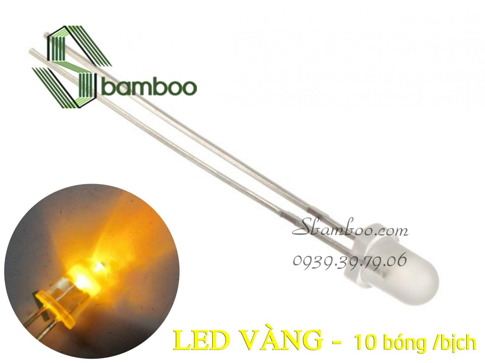 LED VÀNG (10 bóng)