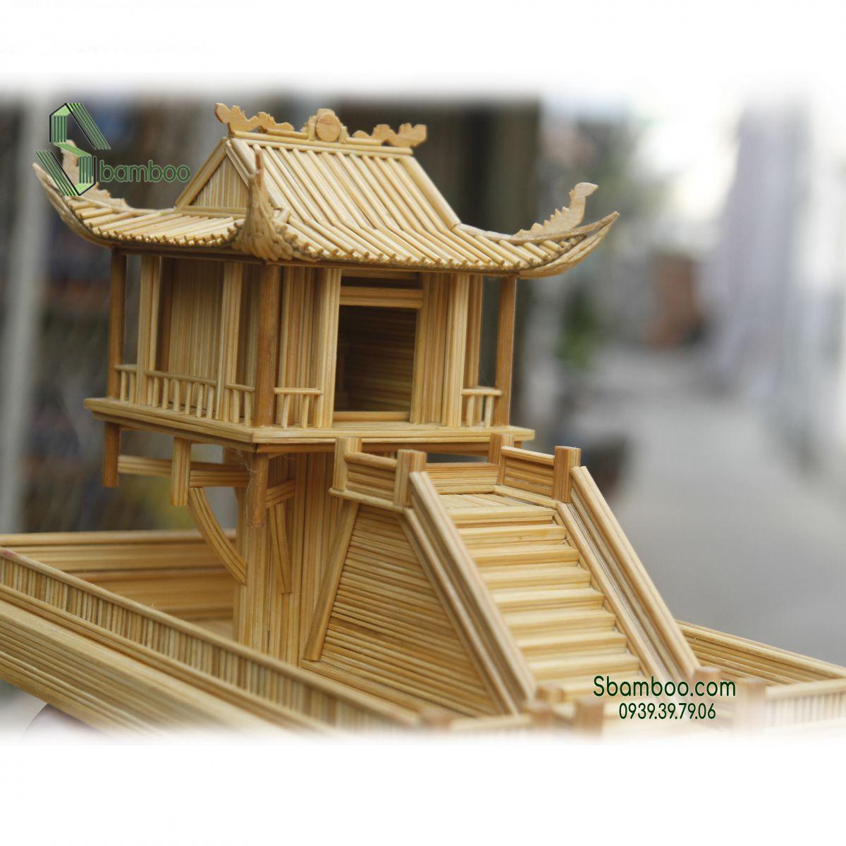 One Pillar Pagoda - Hanoi Model Sbamboo