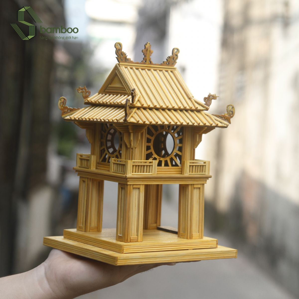 Khue Van Cac Ha Noi Model Sbamboo