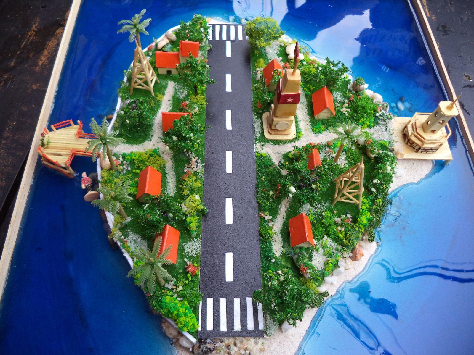 Mô hình Quần Đảo Trường Sa - Việt Nam