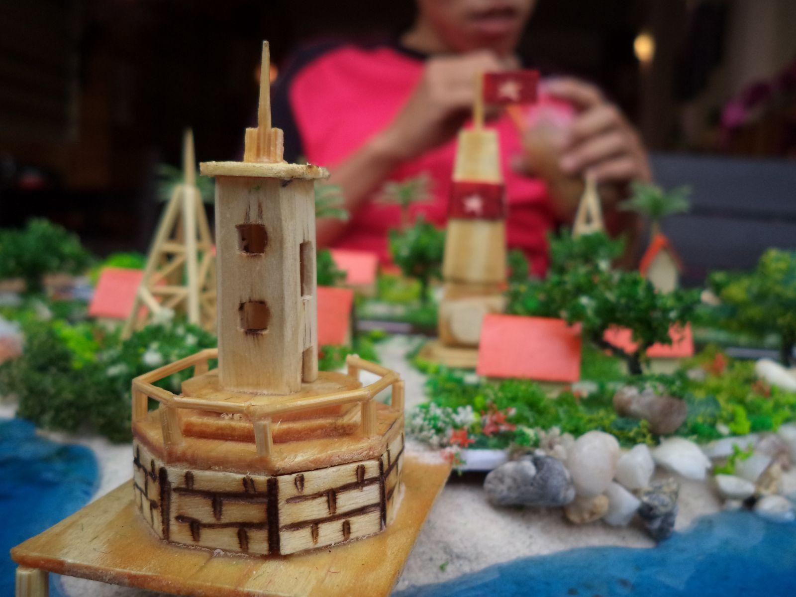 Truong Sa island maquette