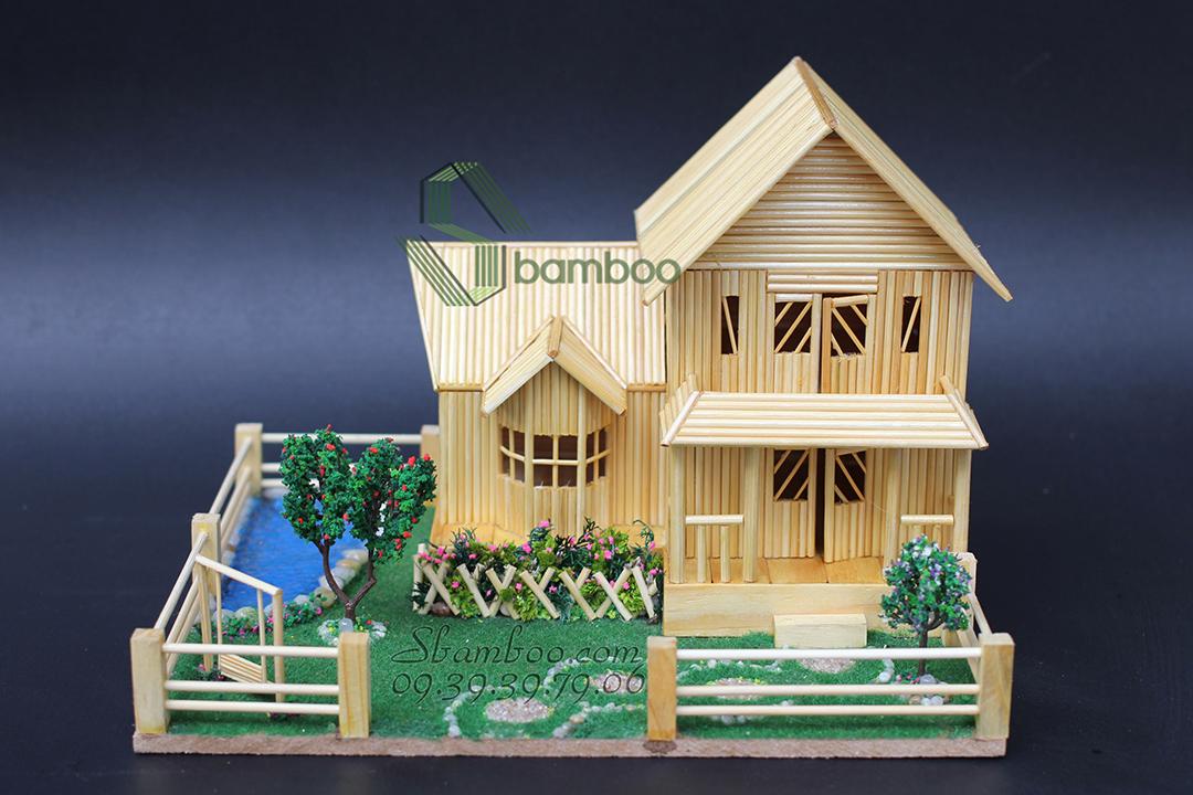 beautiful bamboo house
