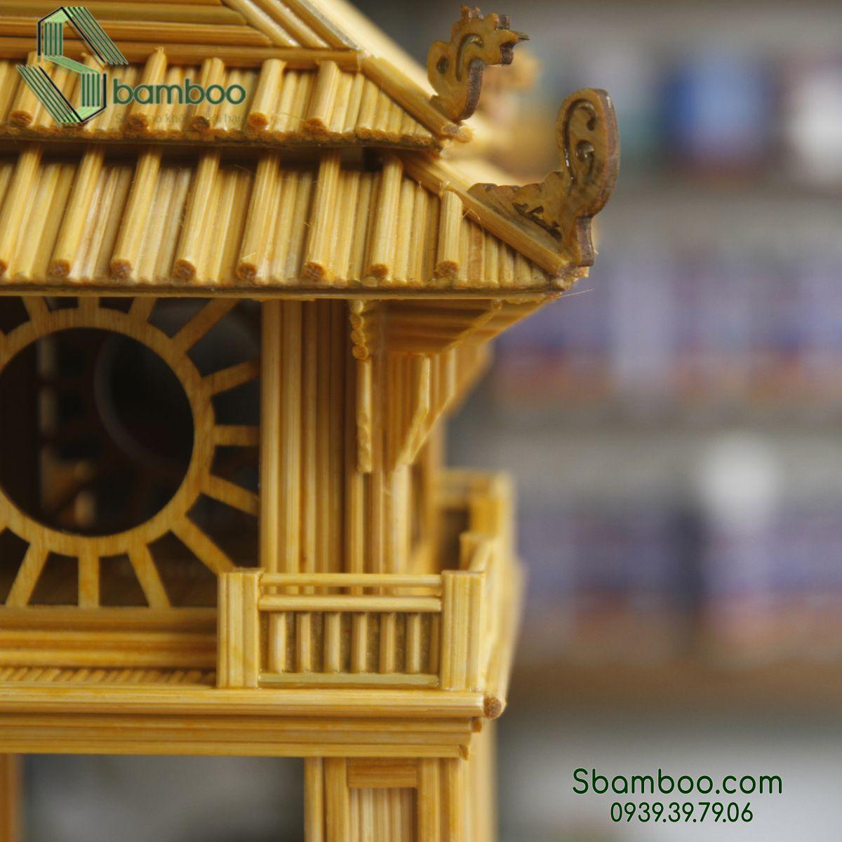 Mô hình tăm tre Sbamboo- Khuê Văn Các (Hà Nội)