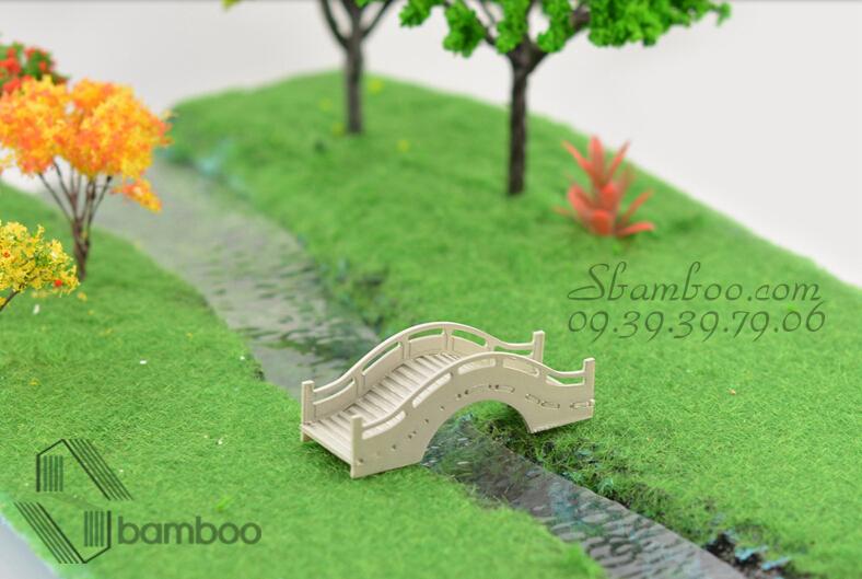 Cỏ mô hình, cỏ sợi làm sa bàn