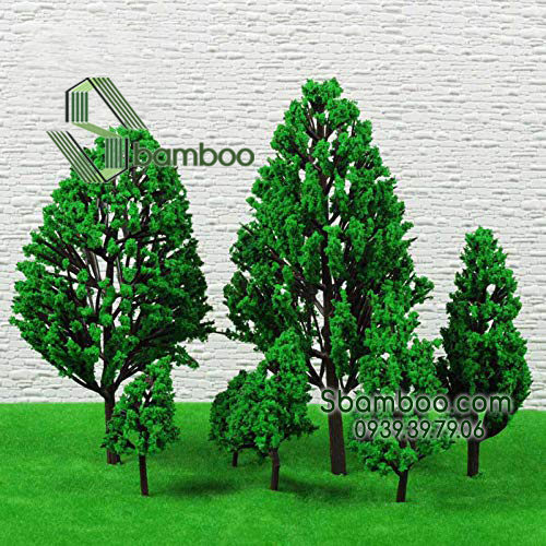 MODEL OF TREE USE FOR DECORATING MINI SCENE, DIORAMA MODEL