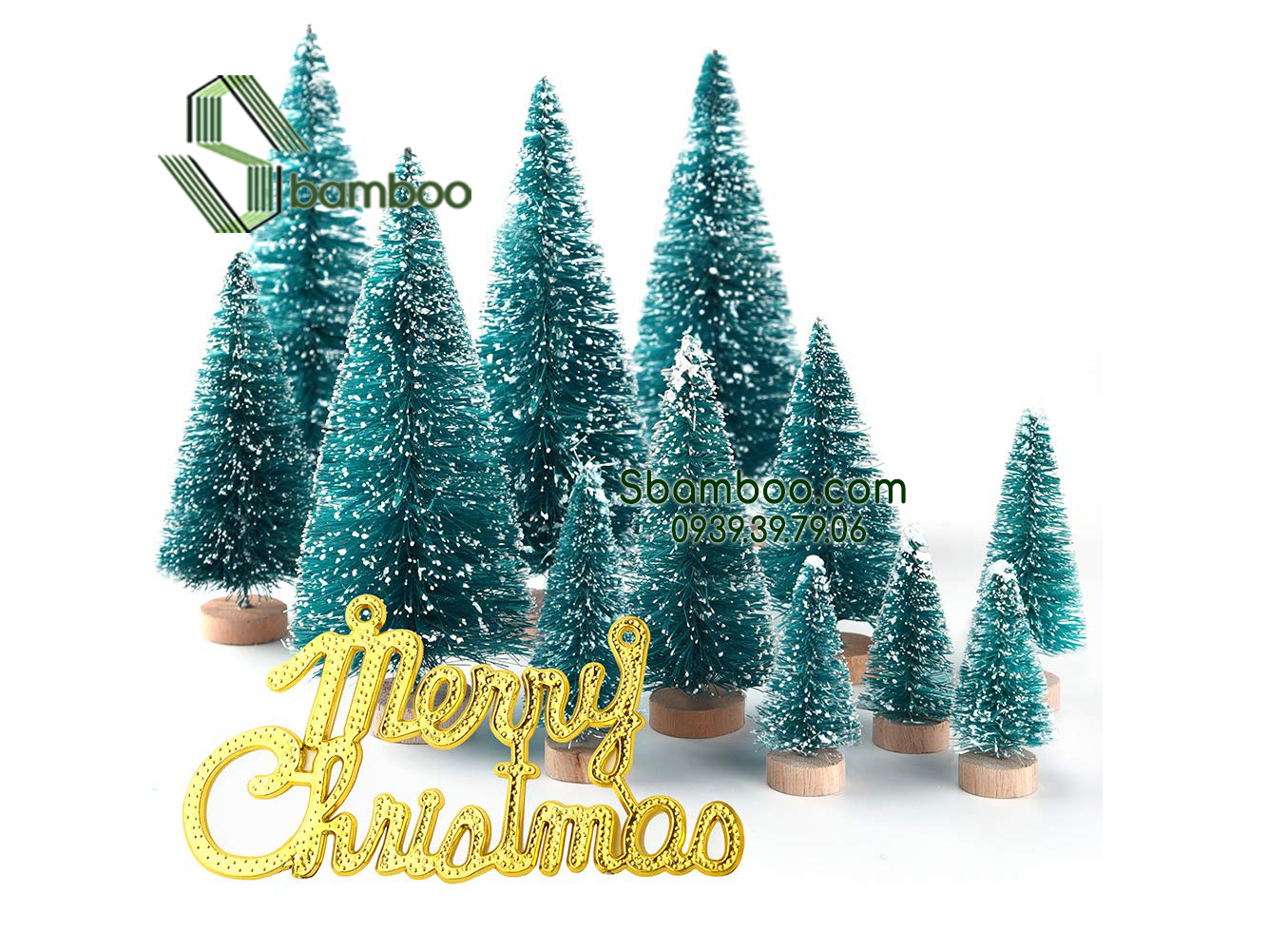 CHRISTMAS TREE MODEL MINI - 10CM