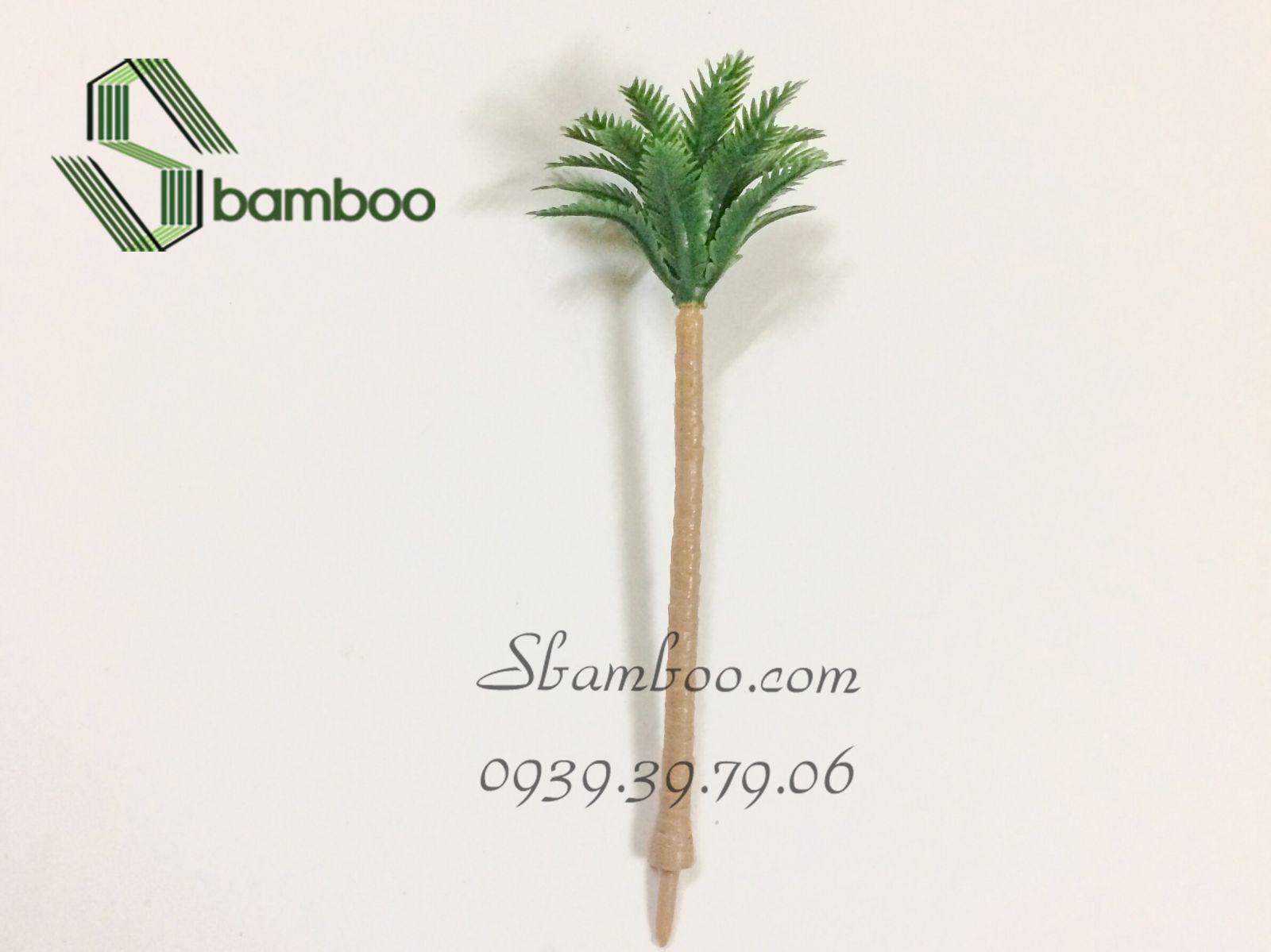 Cây dừa mô hình 10cm