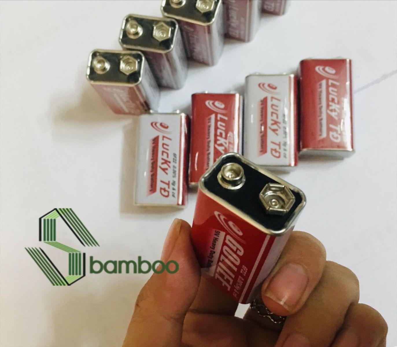 9 Volt square battery Golite battery