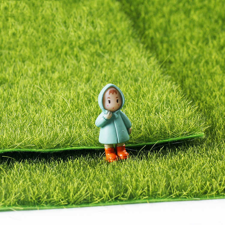 GREENSWARD ARTIFICIAL DECORATE MINI GARDEN SCENE 15CM X 15CM (1 SHEET)