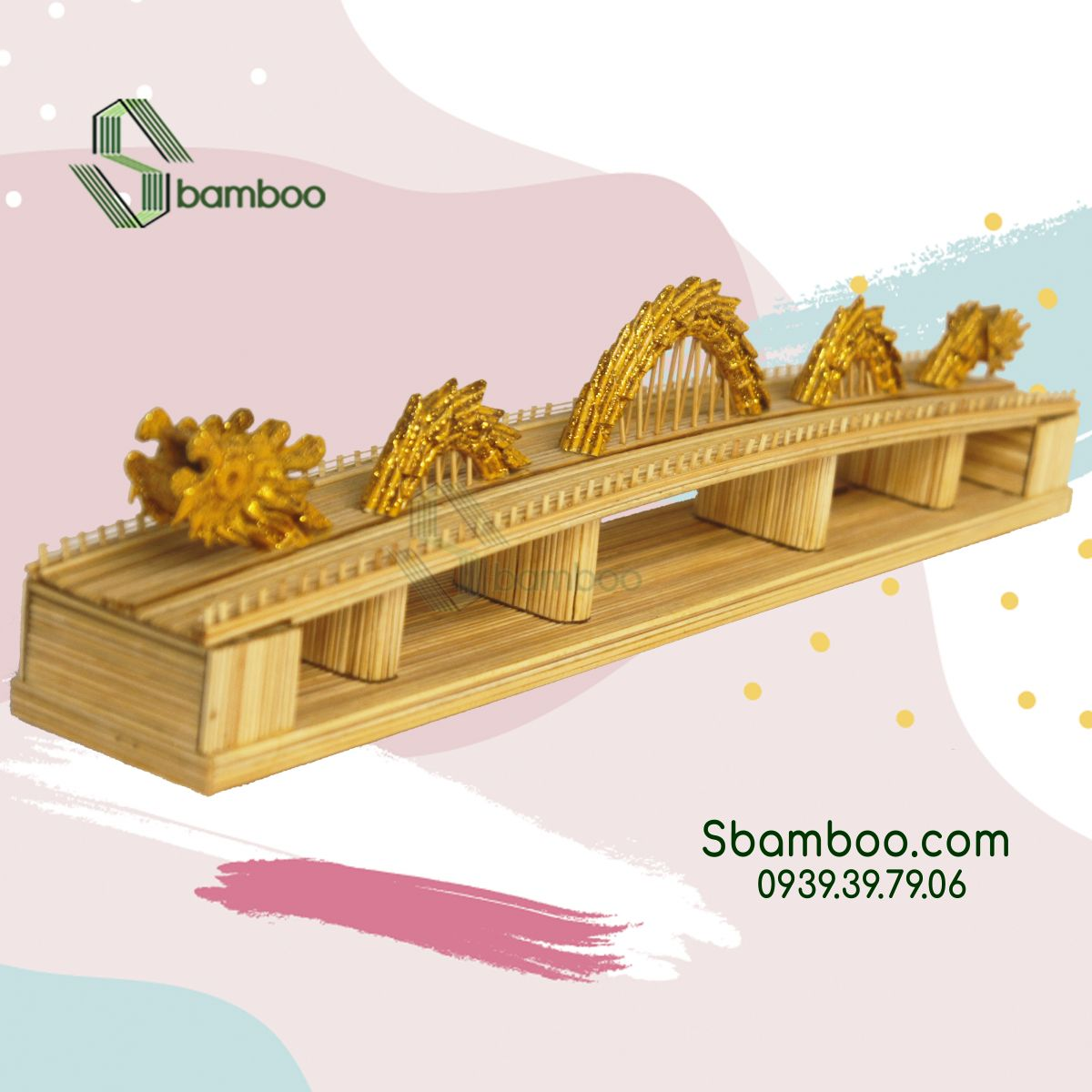Dragon Bridge Model Sbamboo