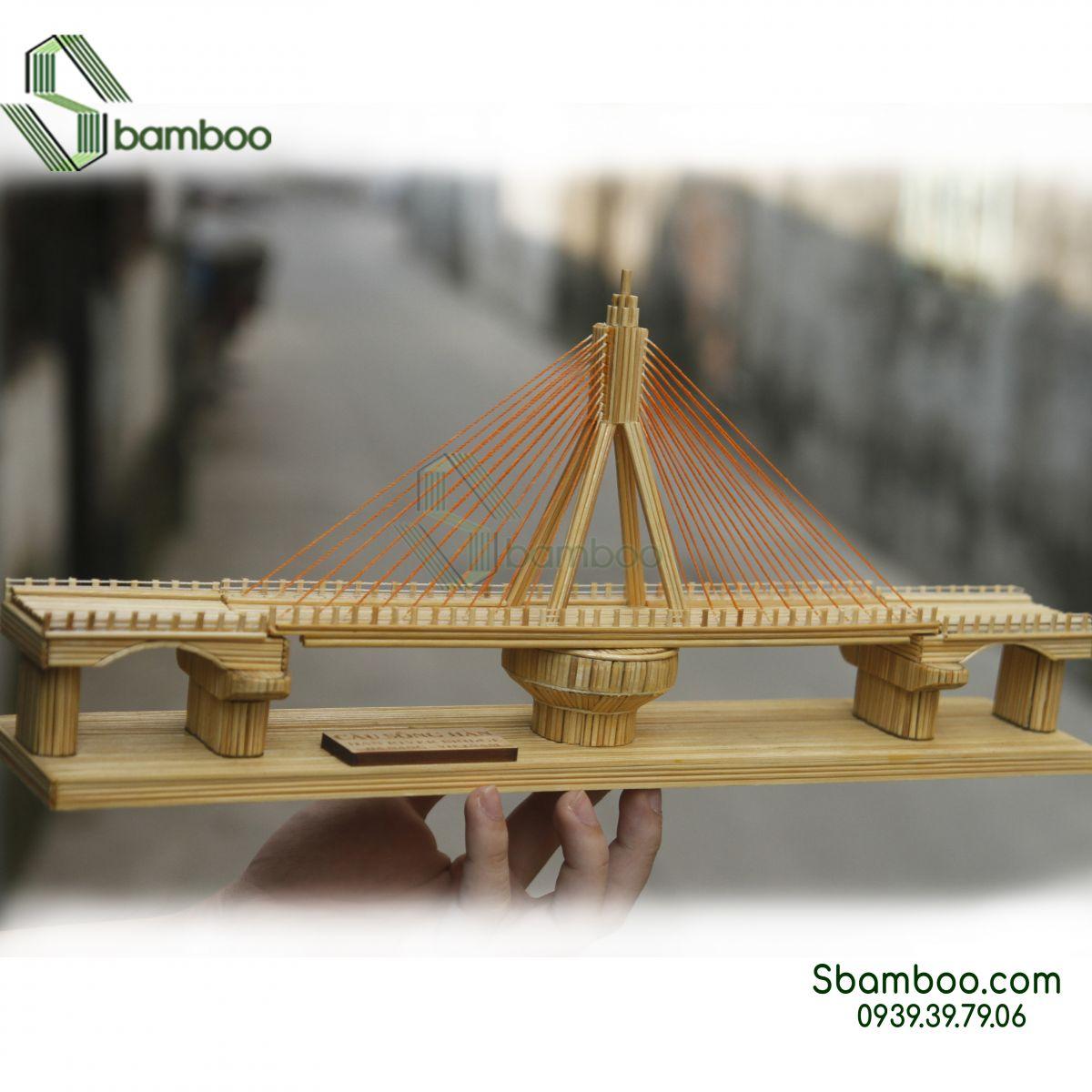 Han River Bridge - Da Nang Model Sbamboo