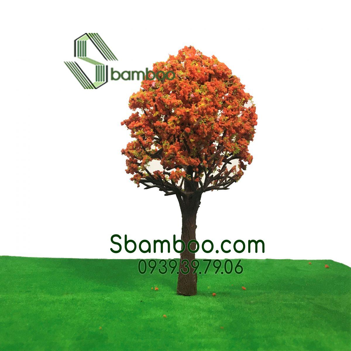 Cây cổ thụ mô hình Sbamboo 17cm