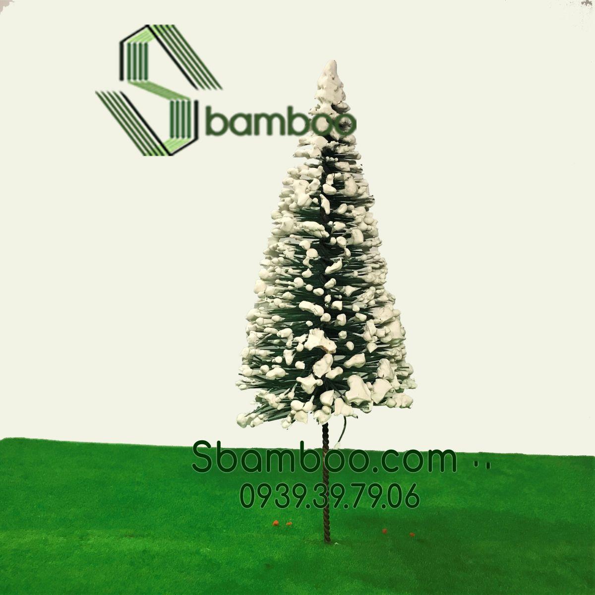Cây thông Noel mô hình Sbambo 18cm