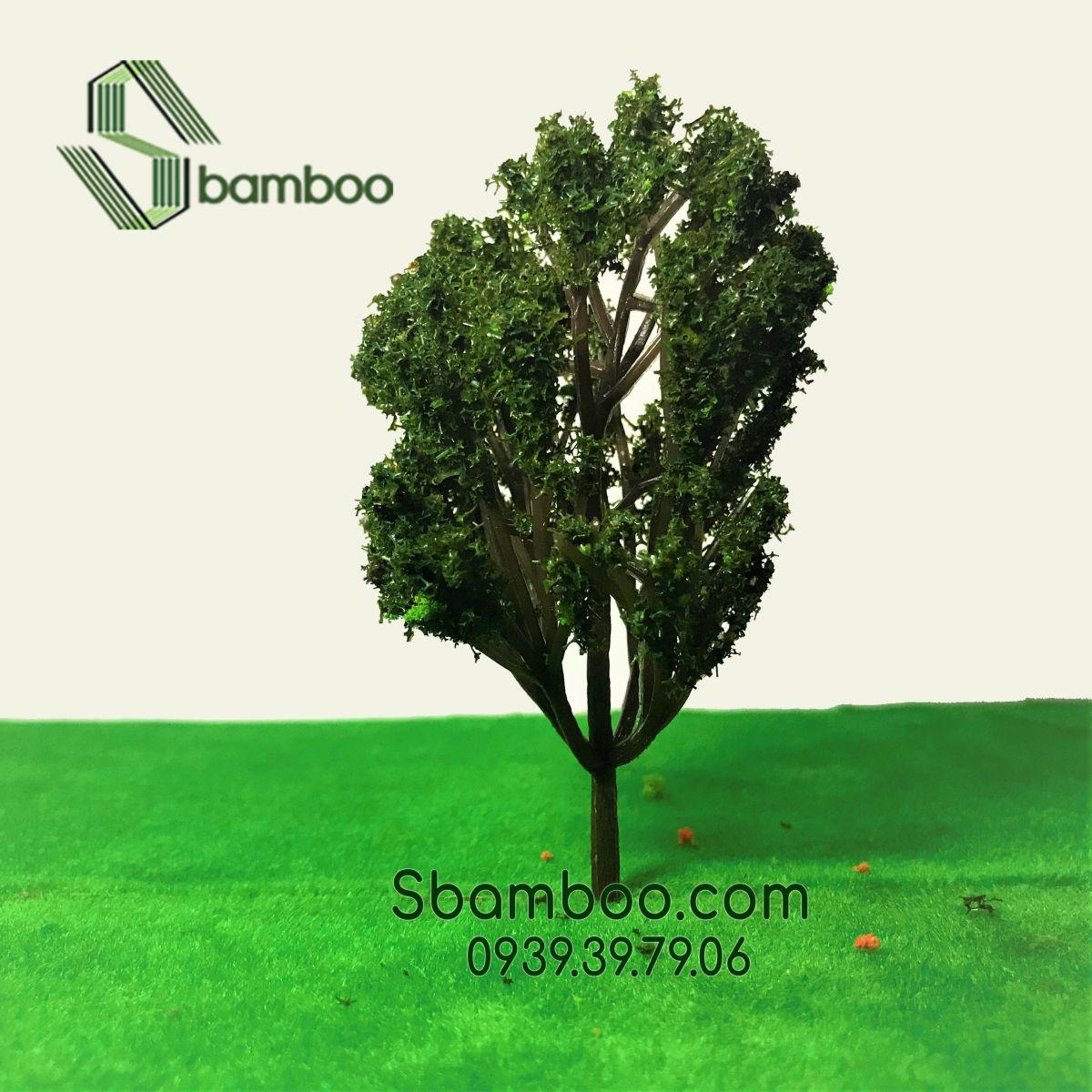 Cây công viên mô hình Sbamboo 10cm