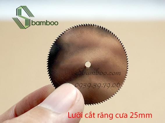 3 LƯỠI CƯA MINI 25MM
