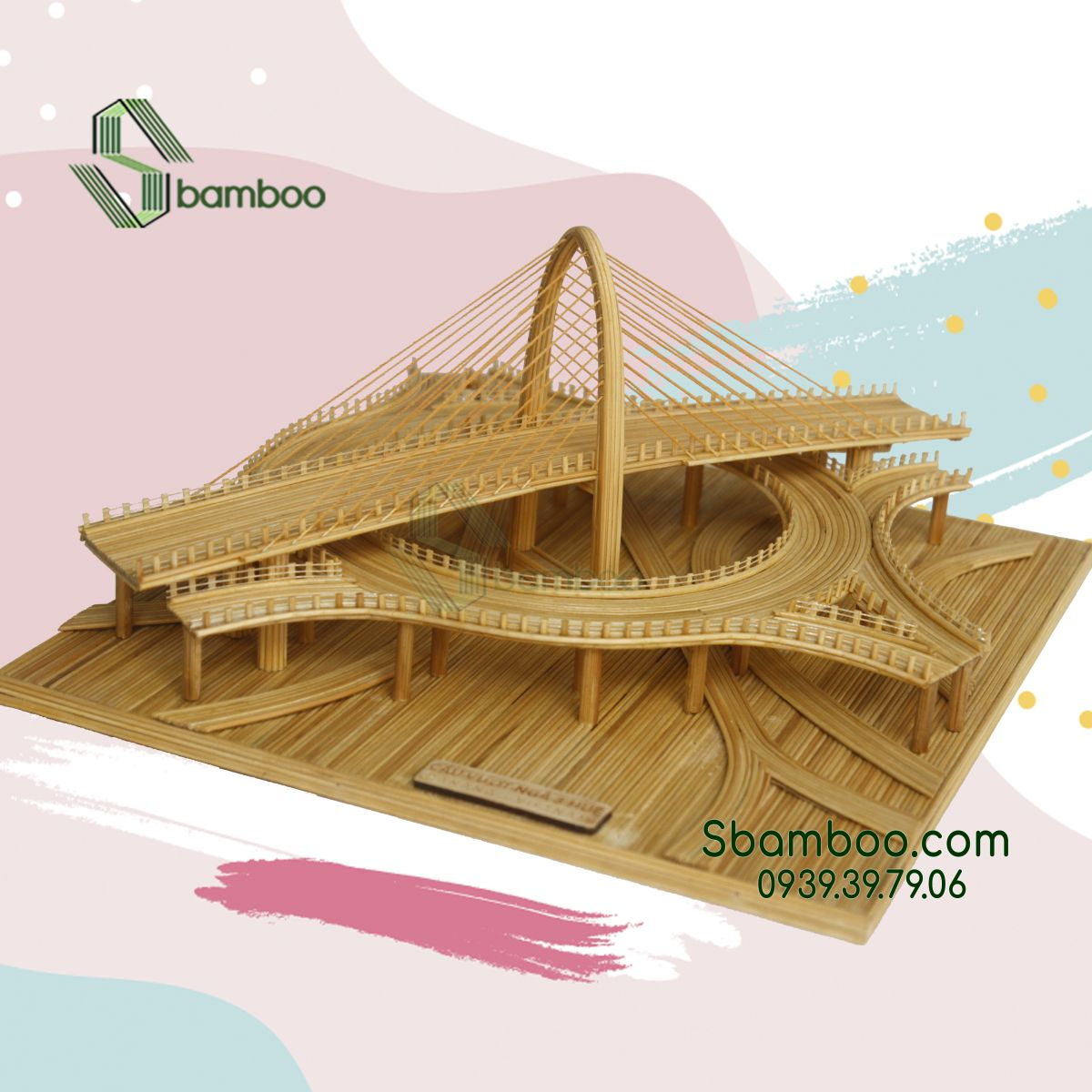 HUE T-JUNCTION OVERPASS (NGA BA HUE OVERPASS) MODEL SBAMBOO